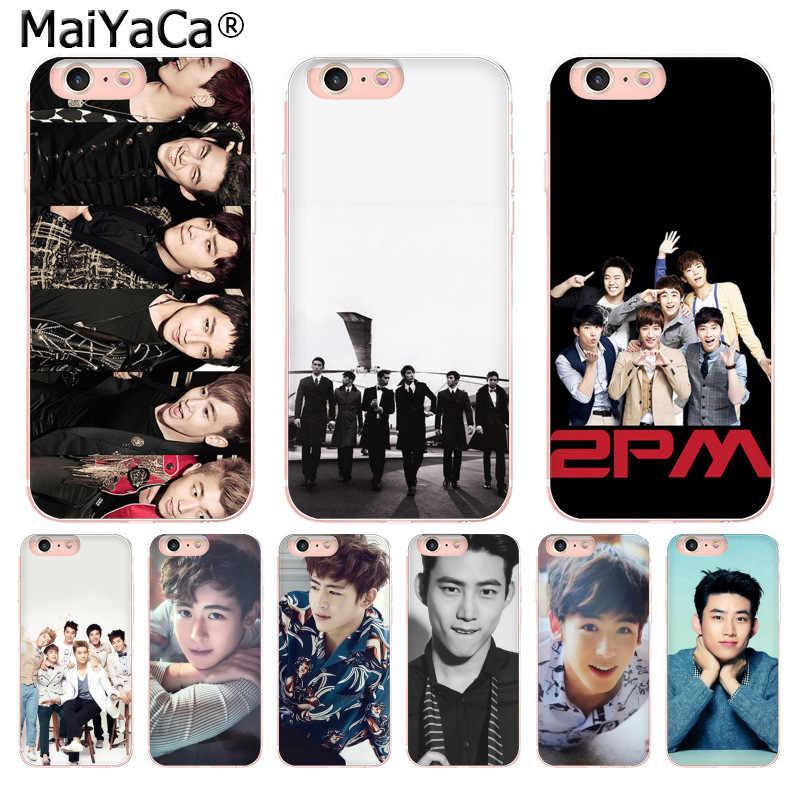 MaiYaCa 2 Kpop Бэнда Новый Fun чехол для телефона чехол для iPhone 8 7 6 6 S Plus X 10 5 5S SE XR XS MAX Coque Shell