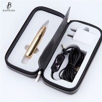 Biomaser E300 Permanent MakeUp Machine Pen Kit For Eyebrows Tattoo Pen With Speed Control Device +1 Cartridges Needles