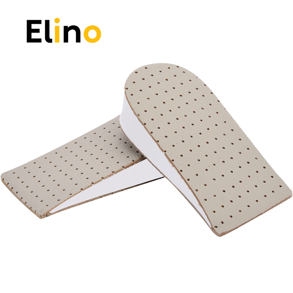 Elino EVA Invisible Half Height Insoles for Men Women Heel Lift Taller Height Increase Insole Shoes Pads Shoe Increasing Insert bsaid height increasing fur insoles diy cut winter keep warm thick breathable soft wool shoe insole men women height increase
