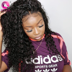 Image 3 - Eva Hair Curly Full Lace Human Hair Wigs Pre Plucked With Baby Hair Glueless Full Lace Front Wigs For Women Brazilian Remy Hair