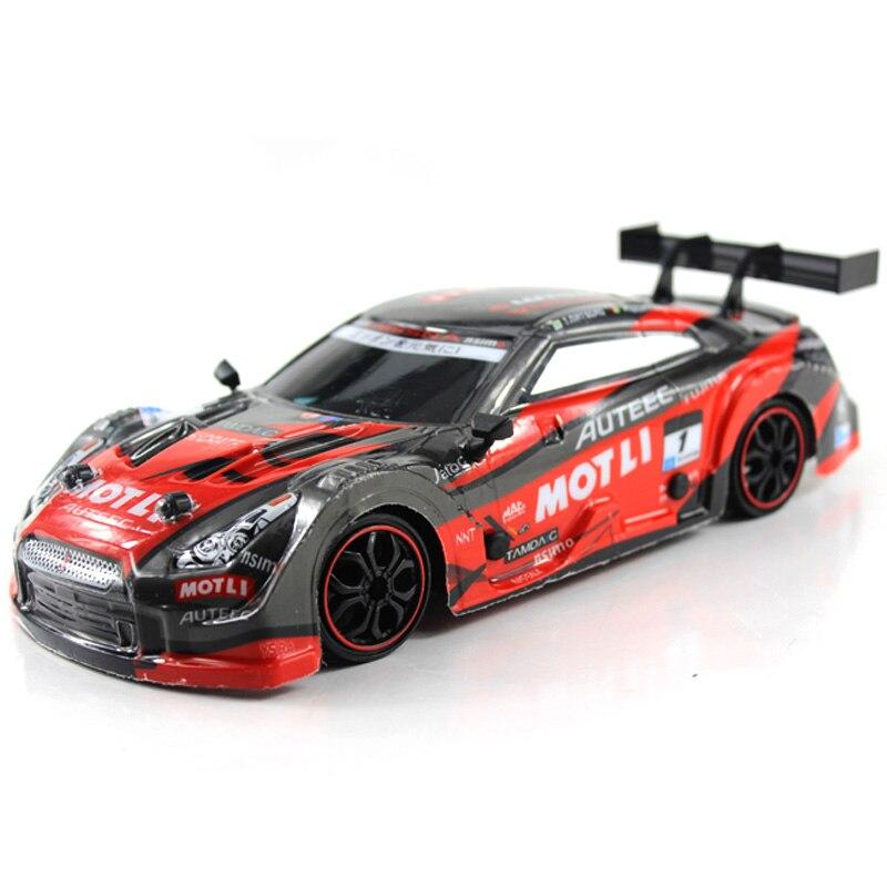 Gtr/lexus 4wd drift racing carro rc para o campeonato 2.4g fora da estrada rockstar 116 escala veículo eletrônico presentes de natal brinquedos