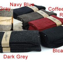 80% овечья шерсть теплые удобные мужские зимние осенние носки мужские s шерсть кашемировые носки один размер подходит 6-9