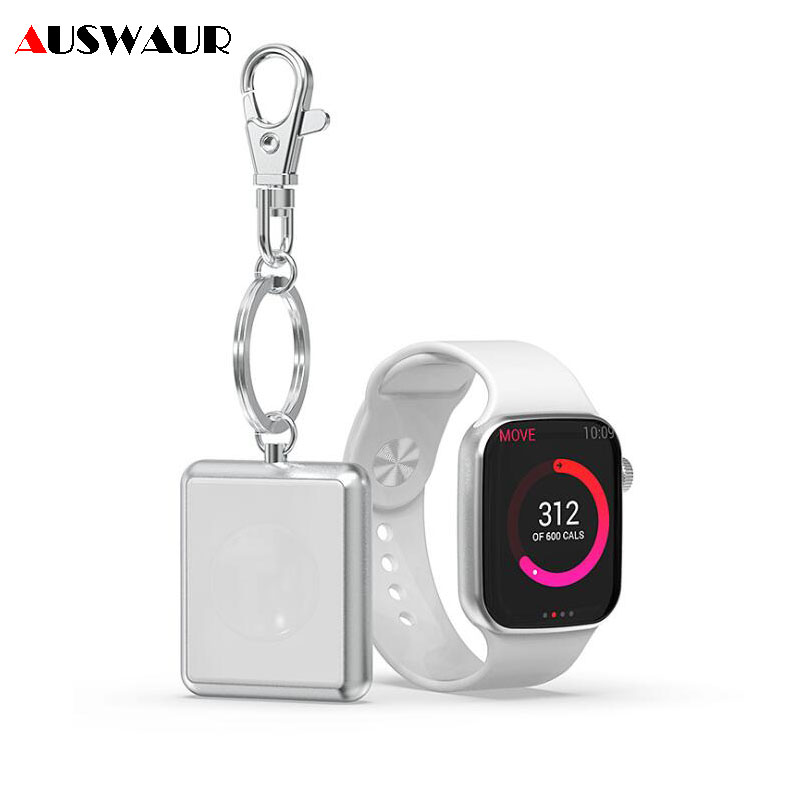 Consumer Electronics Original Charging Dock For Apple Watch Wireless Charger Magnetic Adsorption Stand Travel Portable With Keychain