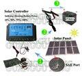 Панель солнечных батарей 100 Вт 12 В солнечных батарей монокристаллического солнечной энергии зарядное устройство для автомобиля/ноутбук/компьютер/телефон