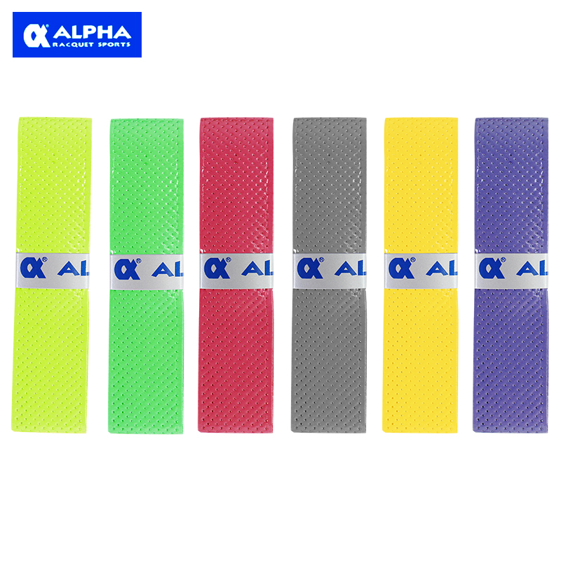 1 pc ALPHA TG-360 Stelitto Grip Super Sticky Film Grip Sweat-absorption Overgrip for Badminton Tennis and Squash racket