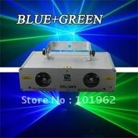 Freies verschiffen Neue Doppel grün + Violet laser zeigen DJ Disco Club Party licht