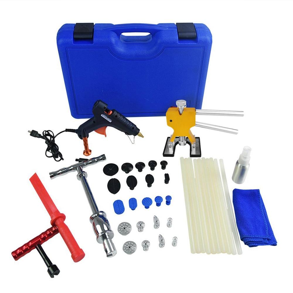 pdr tools Car Paintless Dent Repair Tool Set Dent Puller Glue Gun Slide Hammer pdr glue