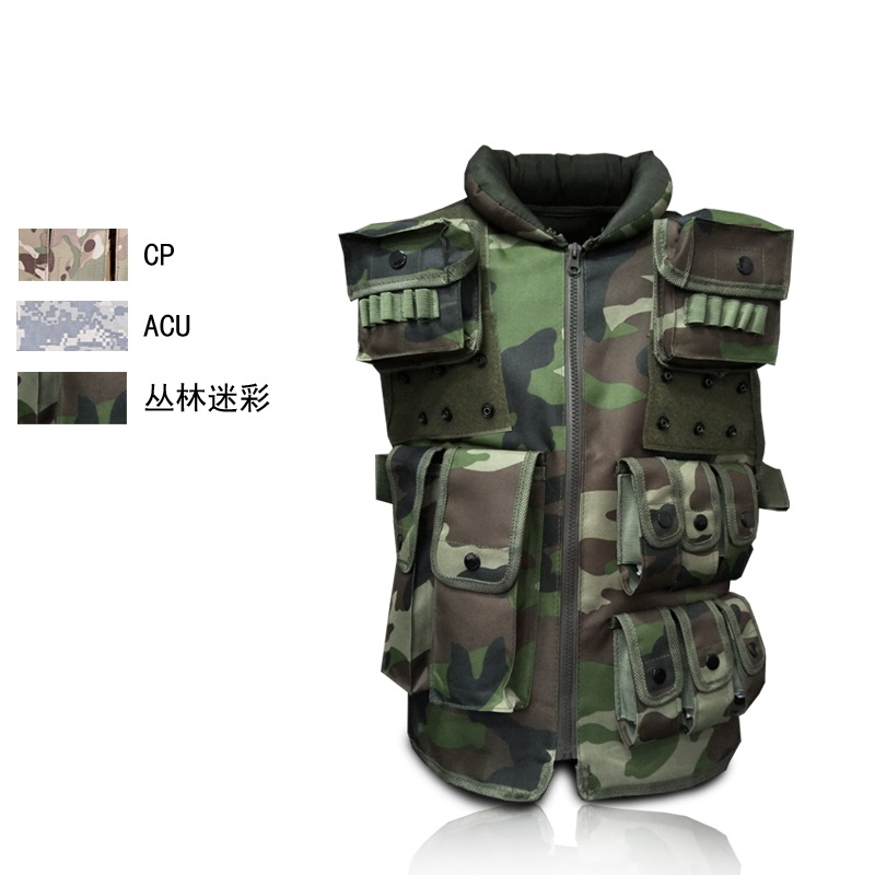 Cs outdoor field protective equipment tactical vest amphibious training uniforms military multifunctional combat vest