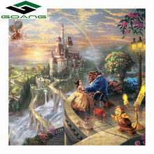 Diamond Painting Cartoon princesses and princes Full Square Rhinestone Cross Stitch Mosaic Embroidery Christmas Gift