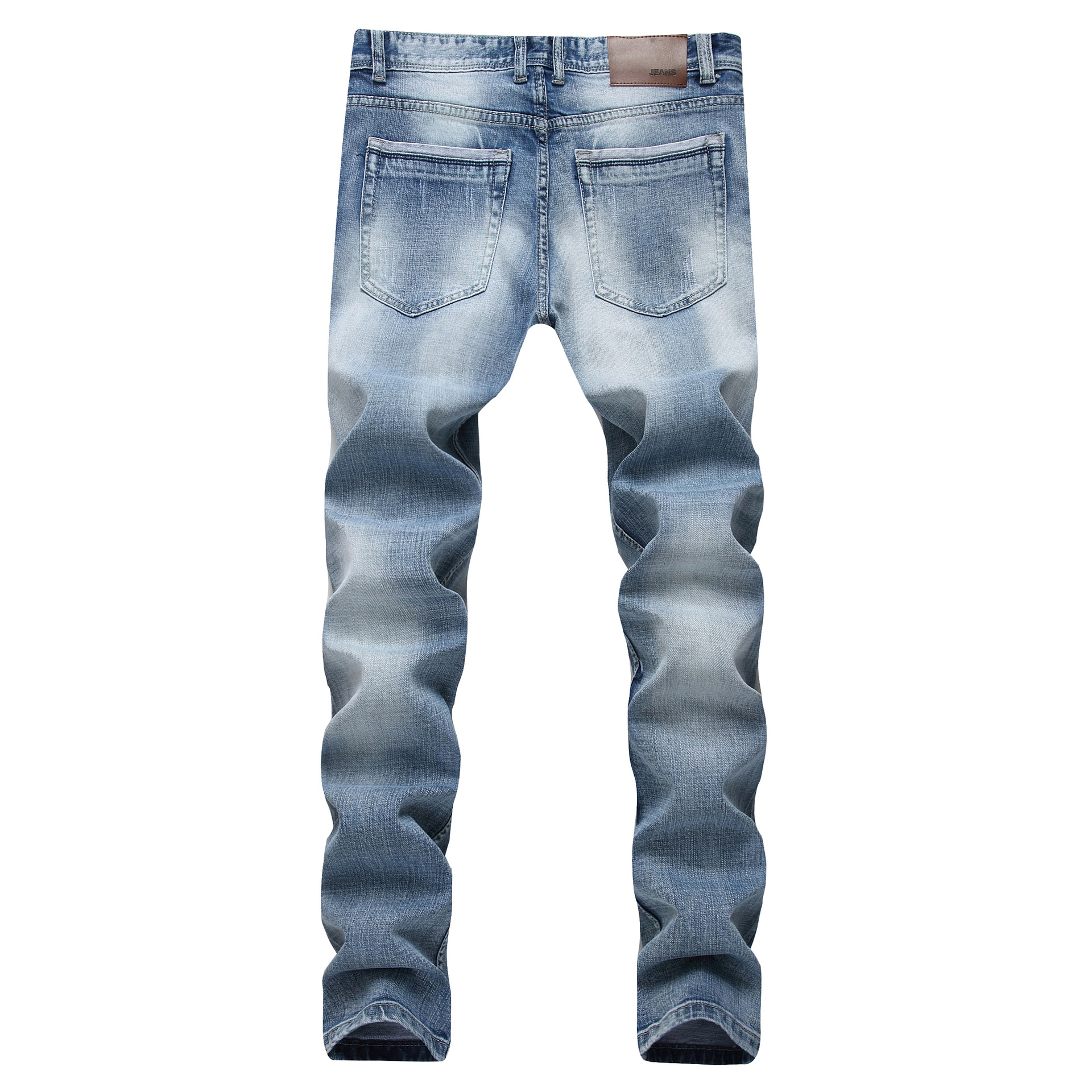 New 2018 Mens wear shallow jeans, high elastic body repair cotton man supply cowboy trousers