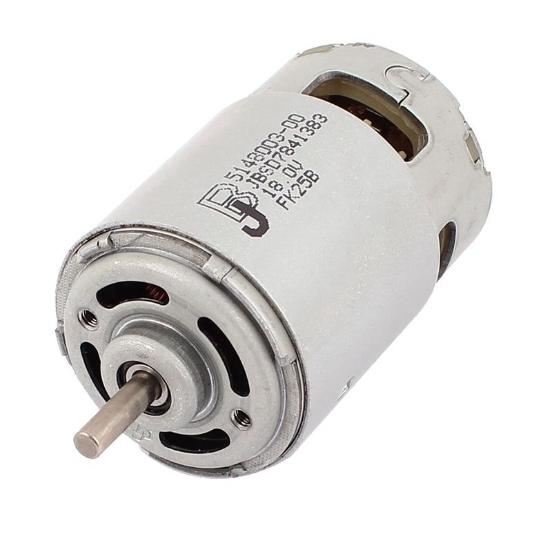 цена на DC 18V 18000RPM 5mm Dia Shaft 2 Pin Terminals Electric DC Motor