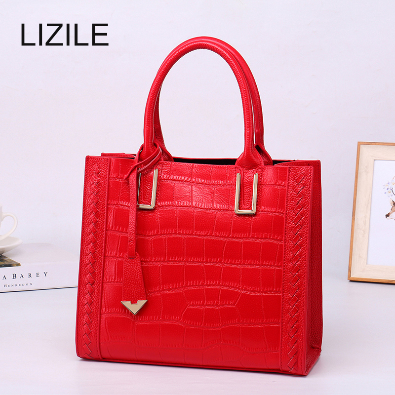 Women Handbags High Quality Corodile Patten Leather Summer HOT Women Messenger Bags