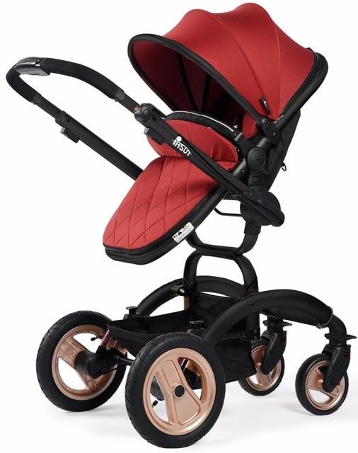 factory Deluxe baby stroller luxury phsun High-landscape pushchair/pram/stroller,highview stroller,folding infant pushchair