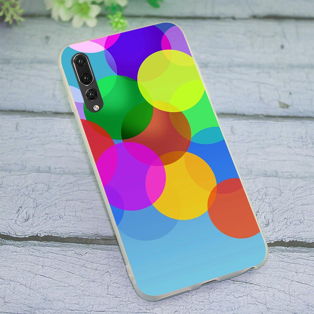 Soft TPU Silicone Cover for Huawei Honor 8 Lite Bubbly Phone Case for 8C 7C 9 10 Note Y6 2018 Y7 Y9 Nove 3 3i 6A 7A 7X Pro Skin in Fitted Cases from Cellphones Telecommunications