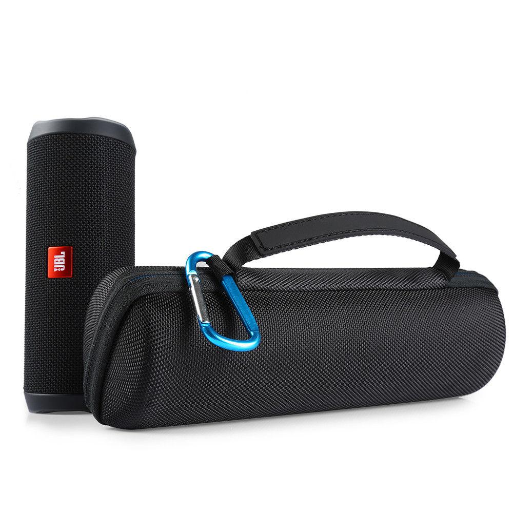 Travel Carrying Protective Cover Case For JBL Flip4 Flip 4 Wireless Bluetooth Speaker Cover Pouch For Plug & Cables