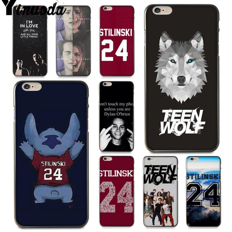 Yinuoda American TV series Teen Wolf Stilinski 24 Coque Phone Case for iPhone 8 6s Plus