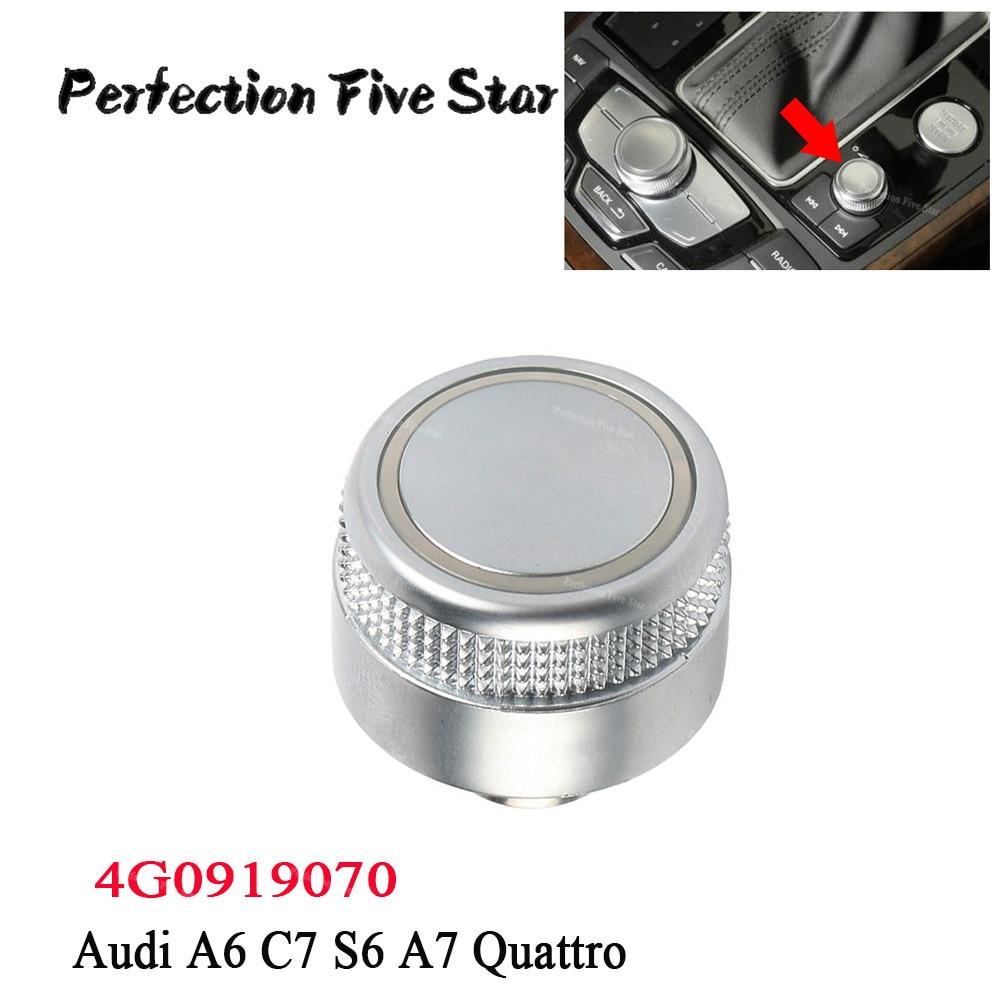 Original Audi MMI pommeau bouton a6 a7 rs6 rs7 4g0919069