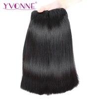 YVONNE бразильские прямые волосы 3 пучка выравнивание кутикулы девственные волосы 10 22 дюймов человеческие волосы переплетения пучки
