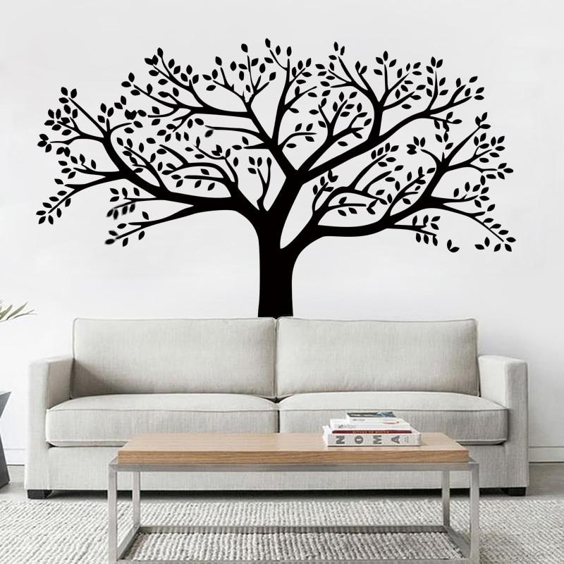 ZN merk stamboom muurstickers extra grote fotolijst boom muurstickers - Huisdecoratie - Foto 2