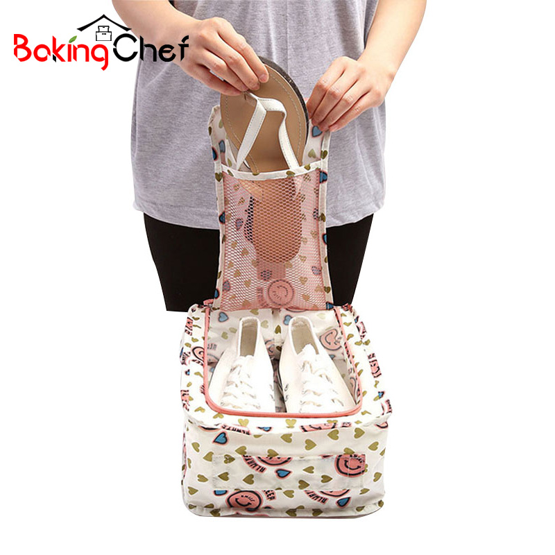 BAKINGCHEF Traveling Storage Bags Organization Shoes Woman Holder Container Box Home Accessories Supplies Gear Item Stuff Cases
