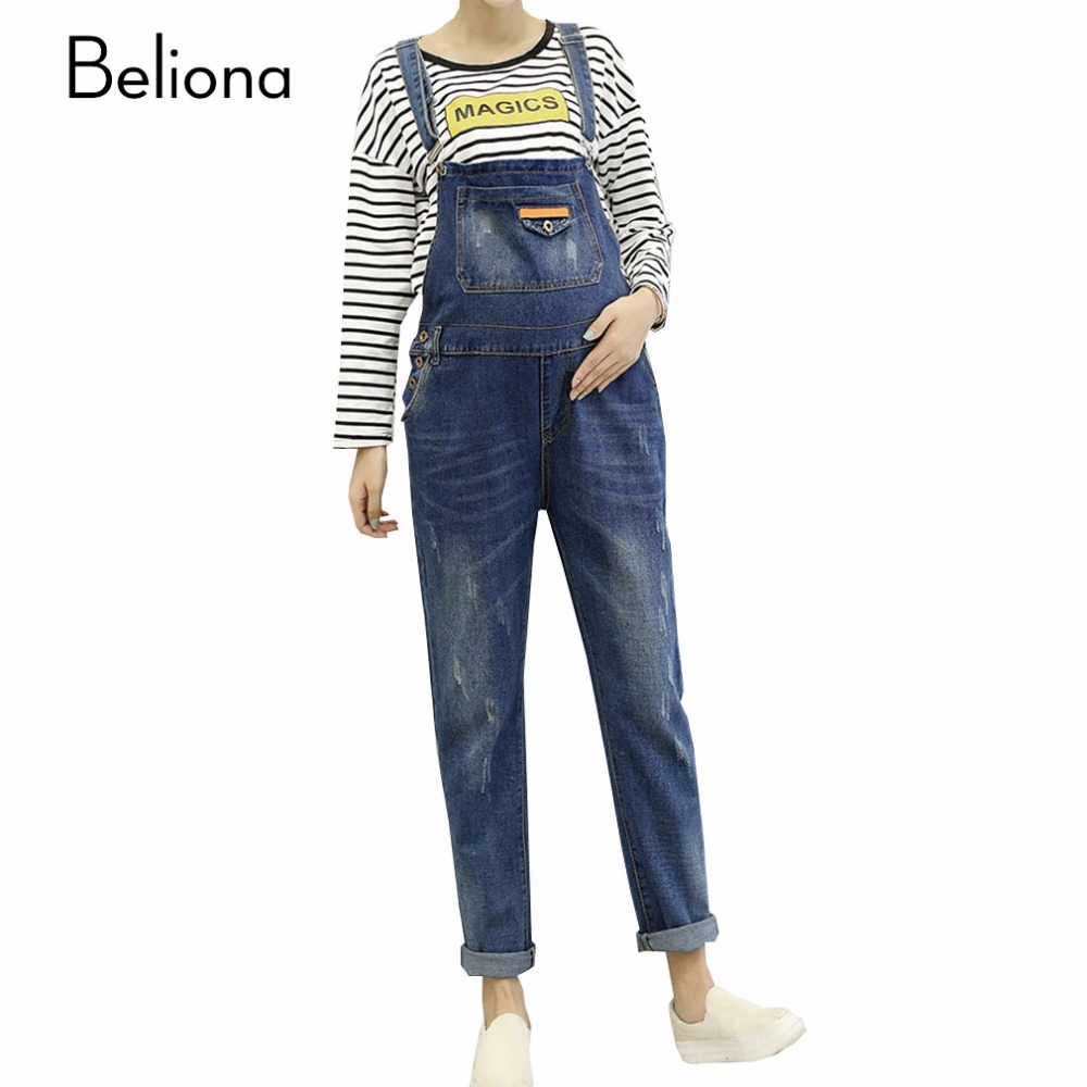 Pregnancy Jumpsuits Denim Promotion-Shop for Promotional Pregnancy ...