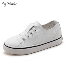 Children Brand Spring White Shoes Girls Fashion Chaussure Enfant Boys Comfortable Sneakers Kids High Quality Rubber Shoes C287
