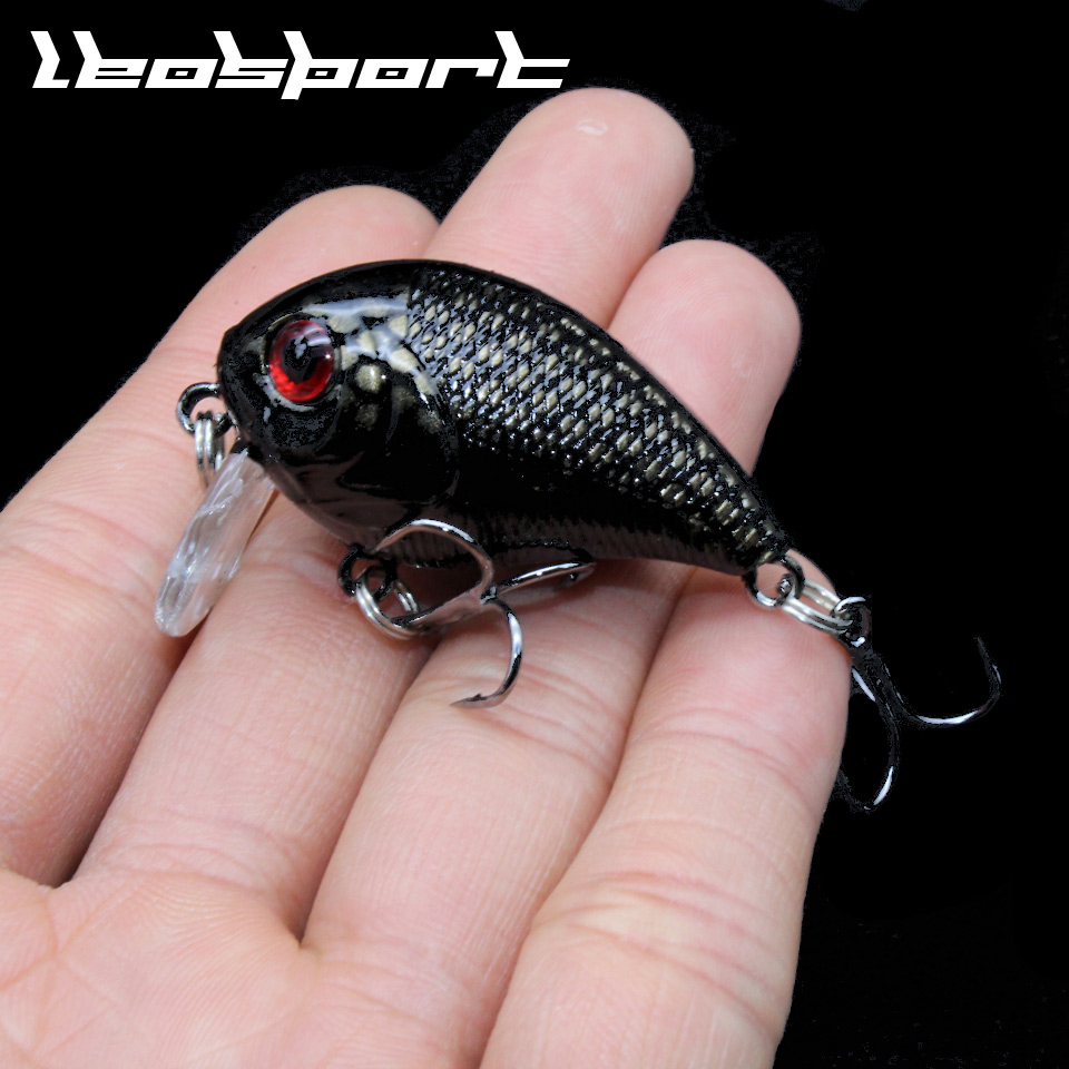 Brand Lifelike VIB Floating Fishing Lure 4CM 8G Pesca Hooks Fish Wobbler Tackle Crankbait Artificial Japan Hard Bait