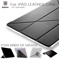 Baseus Soft TPU Cover For IPad 9 7inch Auto Sleep Wake Up Magnetic Flip Leather Case