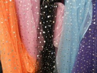 Freeshipping Sequin Mesh Gauze Veil Curtain Yarn Material Laser Sequins Stretch Material Fabric For Dresses Sequin