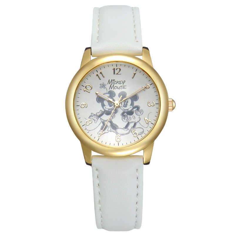 ดิสนีย์แฟชั่นแบรนด์นาฬิกาเด็กข้อมือสุภาพสตรีสบายๆที่มีชื่อเสียงหญิงนาฬิกานาฬิกาควอตซ์ดูเด็กM Ontreเด็กหญิงRelógio