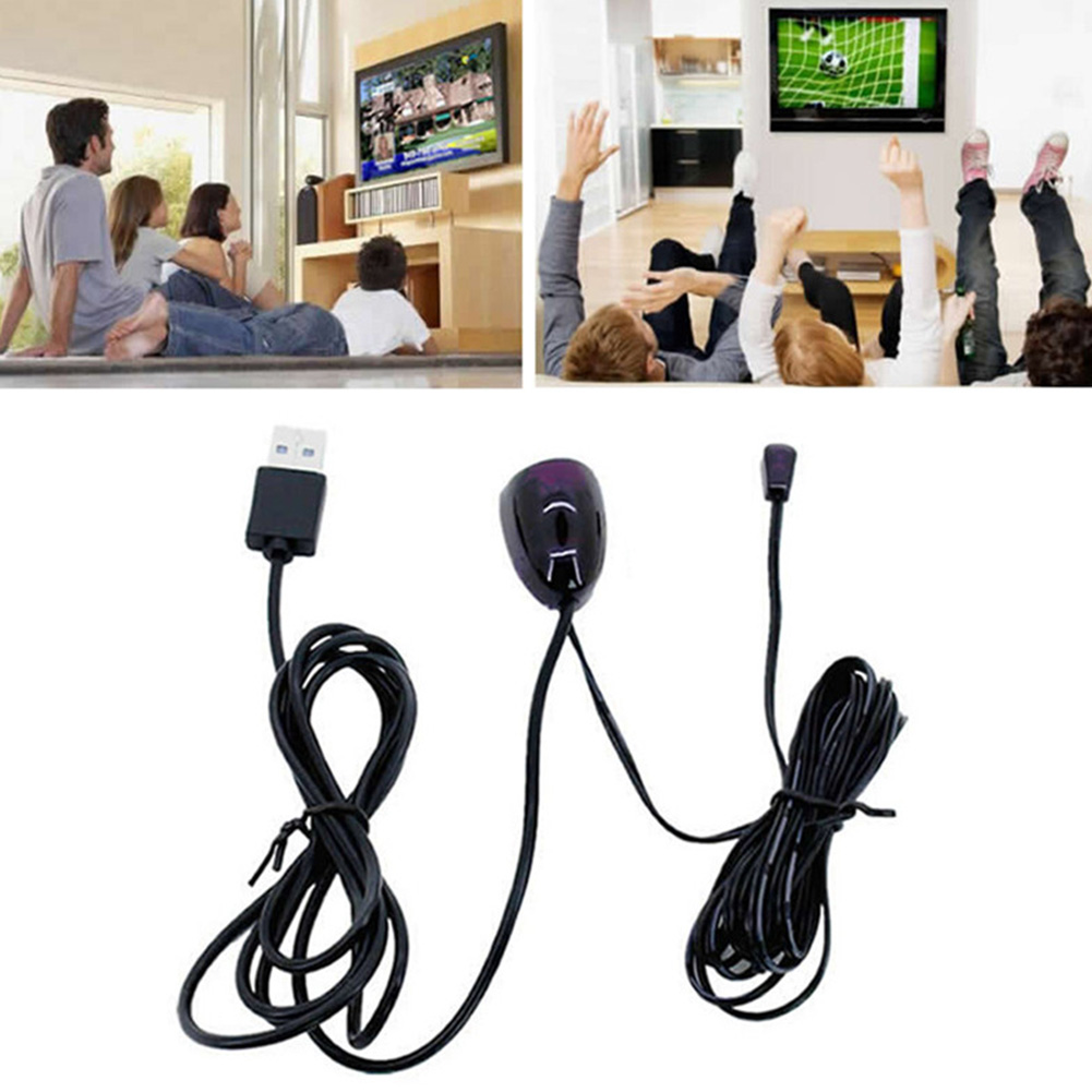 1Pcs Practical 5V USB IR Receiver Infrared Remote Control Receiver Extender Repeater USB Adapter Transmitter in Computer Cables Connectors from Computer Office