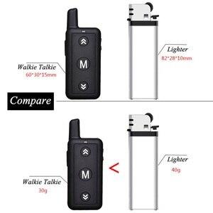 Image 5 - 16 canaux Leixen VV 109 Woki Toki 1 Watt FRS petite taille Radio bidirectionnelle Mini talkie walkie pour Restaurant et enfants
