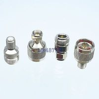 Kit Adapter 4pcs Set N To F Type Male Female RF Connector Test Converter