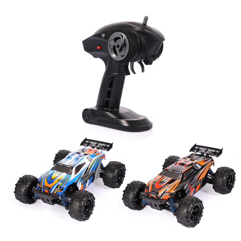 Kids Toy Full-ratio Four-wheel Drive 2.4G 1:18 Desert Racing Remote Control Car Toy Model RC Car 4WD 40KM/H Remote Control Car
