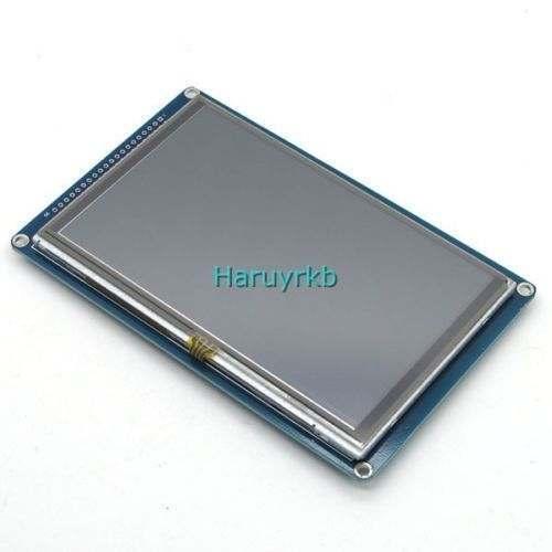 """新しい1ピース5 """"インチtft液晶ディスプレイモジュール800 × 480 +タッチスクリーン用arduinoのuno r3原因"""