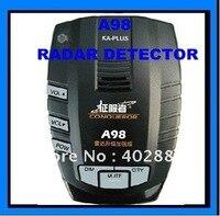 Антирадары сигнализации gps Edog Навигатор Завоеватель Радар глаз автомобилей Сенсор Road Камера детектор A98 + бесплатная доставка