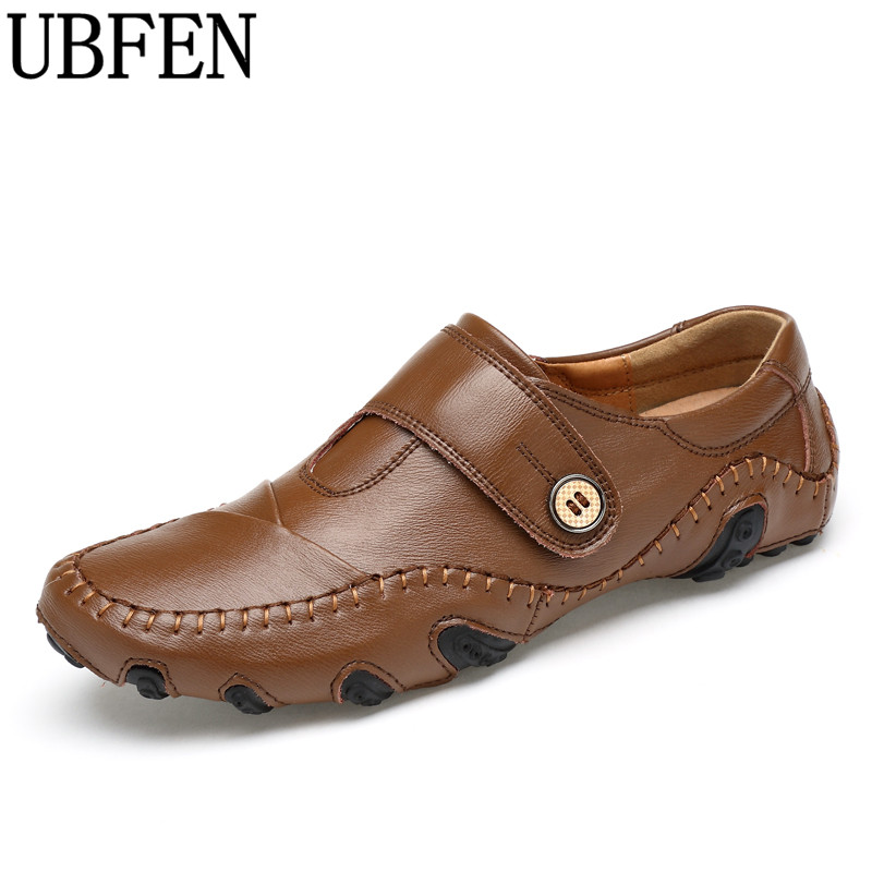 UBFEN Hot Casual Shoes For Men Lace-up Loafers Moccasins Flats Sapatos Masculinos Comfortable Big Size 38-46 Male Driving shoes 2017 new comfortable casual shoes loafers men shoes quality split leather shoes men flats hot sale moccasins shoes