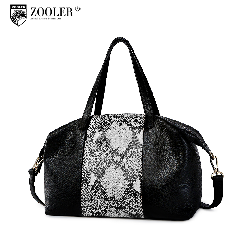 ZOOLER Brand Geniune Leather luxury handbags women bags designer Tote Bag Luxury Handbags patchwork top Bags bolsa feminina Z131 zooler brand women fashion genuine leather handbag shoulder bag 2017 new luxury handbags women bags designer bolsa feminina tote