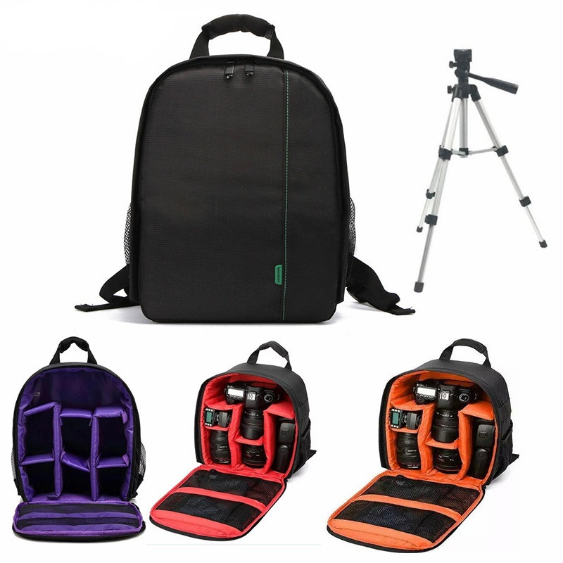 A prueba de agua Digital DSLR cámara de vídeo bolso Multi-funcional pequeñas DSLR Canon Nikon cámara para el fotógrafo foto bolsa