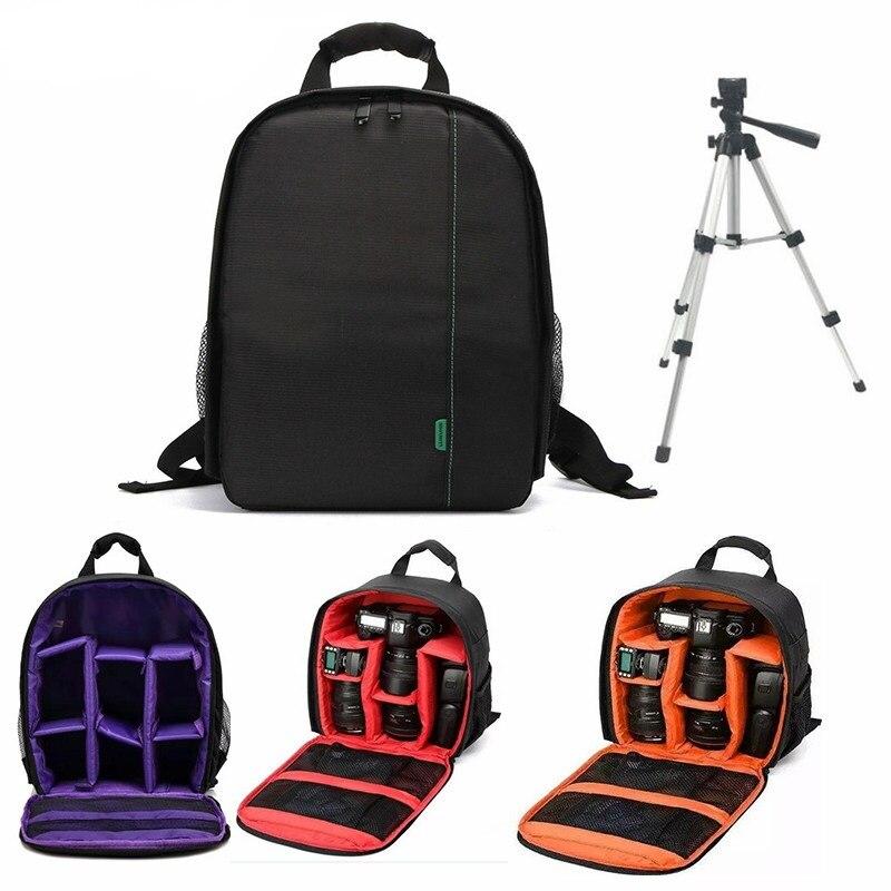 Wasserdichte Digitale DSLR Kamera Video Tasche Multi-funktionale Kleines DSLR Nikon Canon Kamera Rucksack für Fotografen Foto Tasche