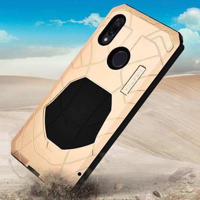 Оригинальный IMATCH Повседневный водонепроницаемый чехол для Xiaomi Redmi Note 7/ Pro Роскошный Металлический силиконовый чехол 360 полная защита чехлы для телефонов