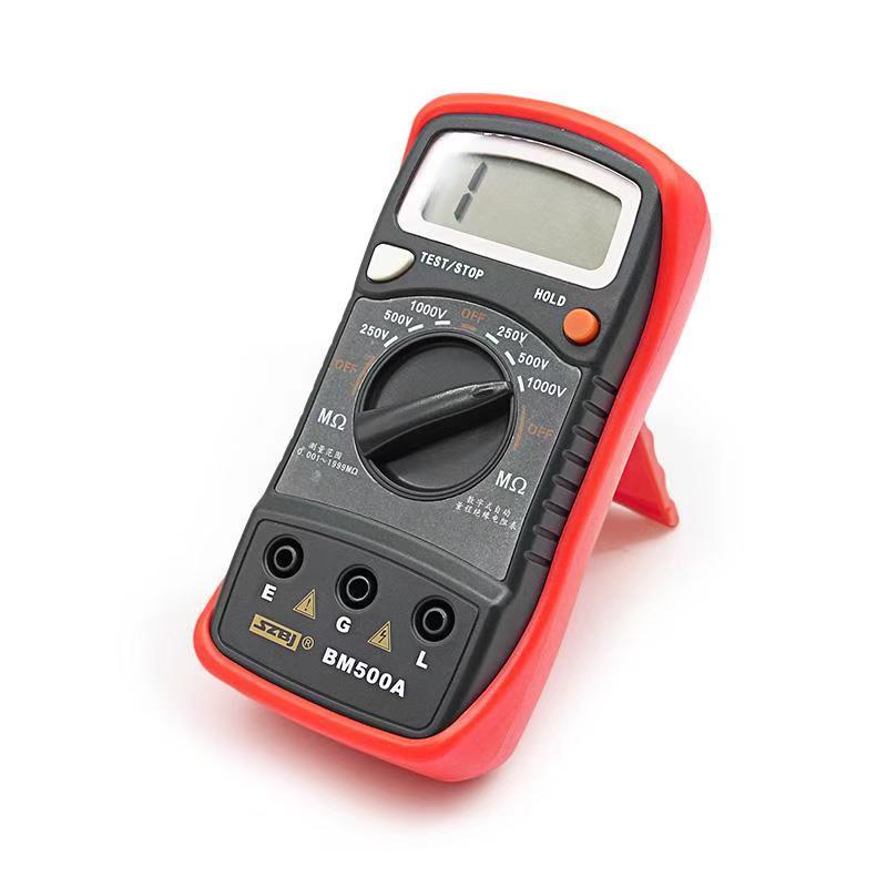 , Stock direct 1000V BM500A 1999 M, testeur de résistance à l'isolation numérique, mètre Megohmmeter # D6309 #