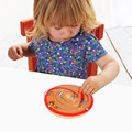Children Round Wooden Puzzle Magnet Beads Slot Maze Board Game Educational Toys