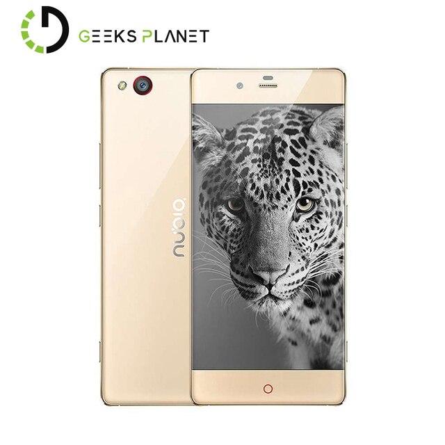 Zte nubia z9 elite edition мобильный телефон qualcomm snapdragon 810 octa Core 5.2 Дюймов FHD Экран 4 Г RAM 64 Г ROM 4 Г Смартфон