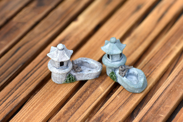 Mini Tower Shaped Resin Statue
