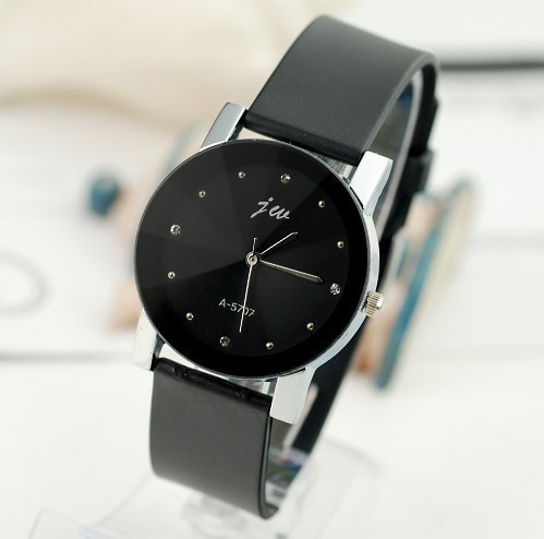 2018 Fashion Jw Brand Casual Student Quartz Women Men Unsex Clock Leather Strap Sport Watch Lover Wristwatches Relogio Masculino