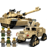 1463pcs Military Theme Tank Legos Building Blocks M1A2 ABRAMS MBT KY10000 1 Change 2 Toy Tank Models Toys
