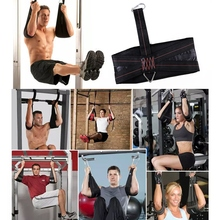 Abdominal Muscles Pull Up Sling Hanging Straps Workout Fitness Sit Heavy Duty Muscle Training Belt