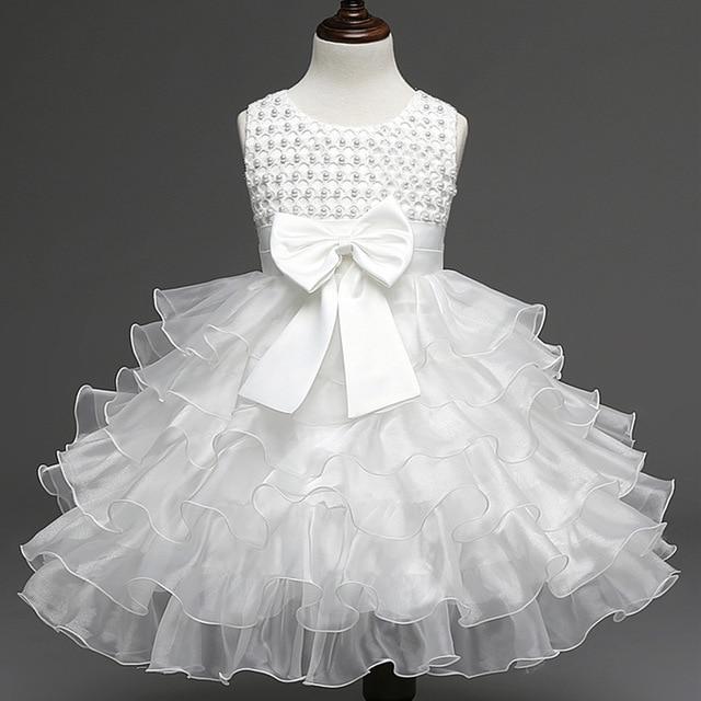 Vestidos para Meninas do bebê 3 6 9 18 24 Meses Bebês 1 ano Vestido ... e7588809b8ed
