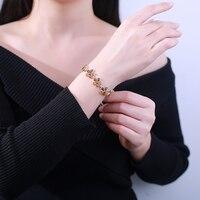 JIUDUO Натуральный Янтарный камень Регулируемый размер браслета классический ручной ювелирные изделия для Женская мода gemstone fine jewelry